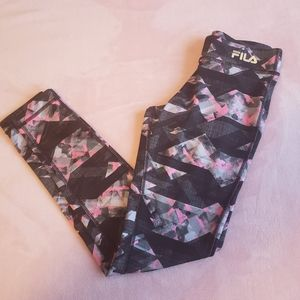 Small (8) Fila Sport athletic leggings